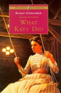 Front cover of Puffin Classics ed. of 'What Katy Did' (1992)